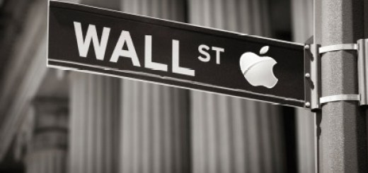 Apple Wall Street