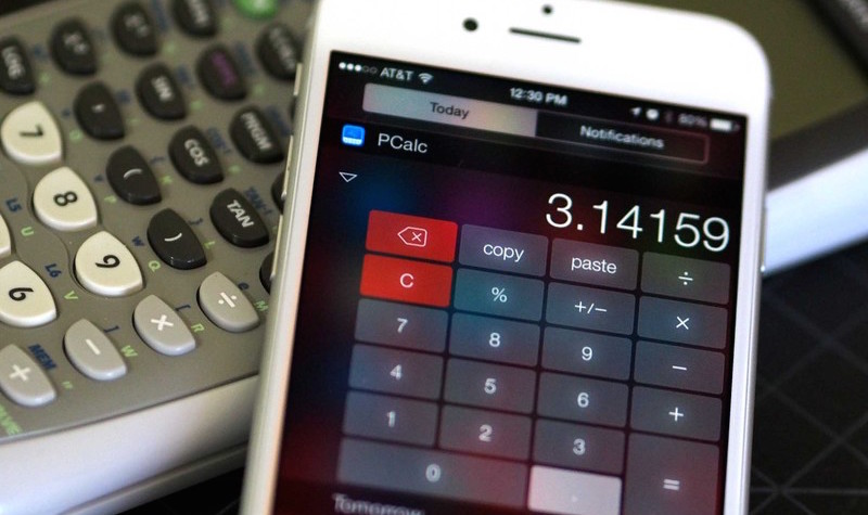 widget calculadora ios 8