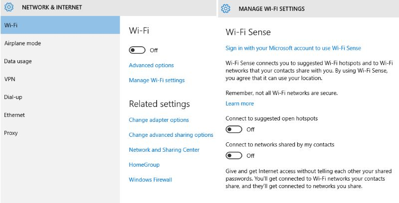 How to set up a Wi-Fi Network in Windows 10 ESH