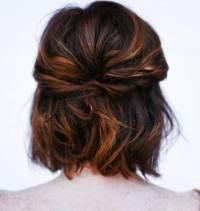 cute ways to do ur hair for a wedding 20 cute short ...