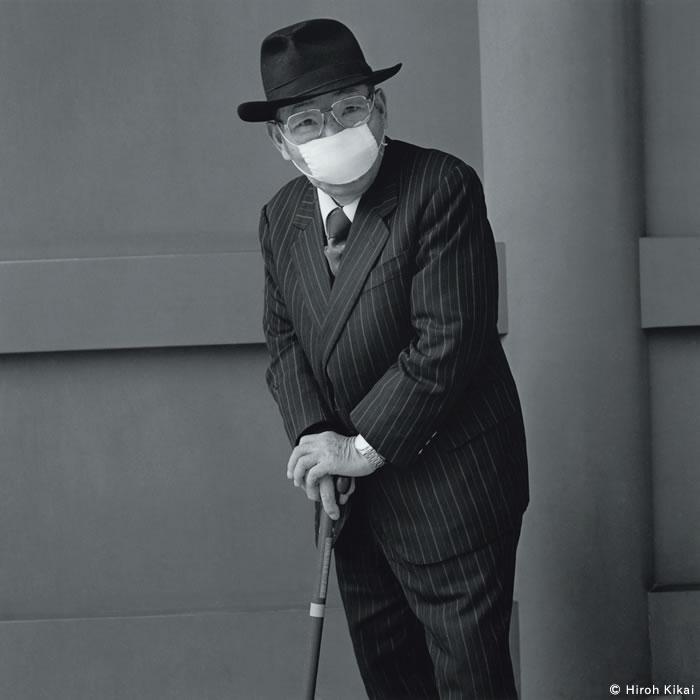 Hombre más viejo de mirada penetrante 2001 © Hiroh Kikai