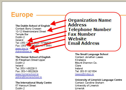ESL School Finder