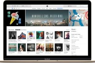 Macbook Gold iTunes