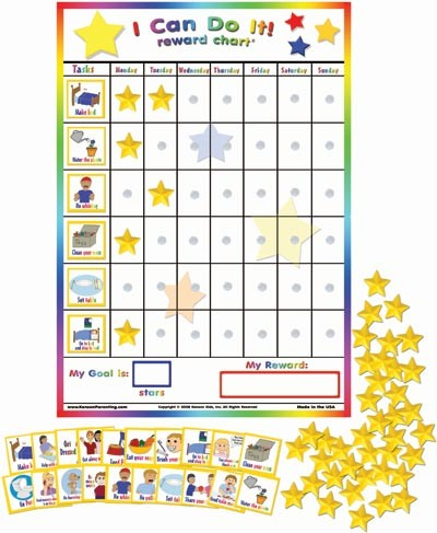 I Can Do It! Reward Chart Token Boards eSpecial Needs