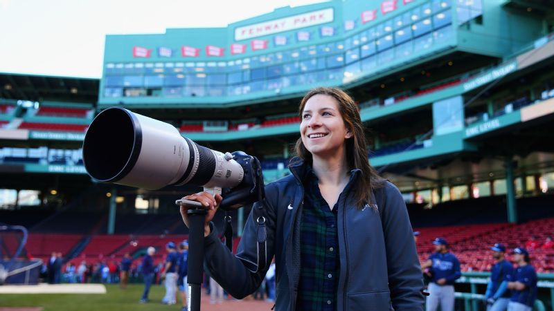 Cool jobs in sports -- Maddie Meyer, staff photographer for Getty Images