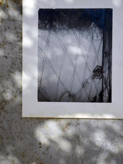 """Silvia Vendramel, """"Senza Titolo - Foto di Adriano Cason"""", 1956, stampa su carta fotografica, 25x50 cm"""