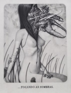 Joao Ruas, Le Sacre du Printemps VIII - Through, 2012, Graphite on Layered Paper, Vellum and Acetate, cm 28x21,5