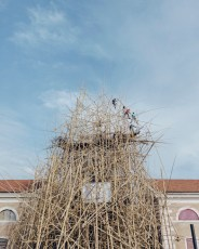 WORK IN PROGRESS, Doug e Mike Starn, Big Bambú, MACRO Testaccio, Roma. Courtesy Enel Contemporanea. Foto: Sirio Magnabosco
