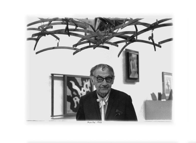 Enrico Cattaneo, Man Ray, 1969