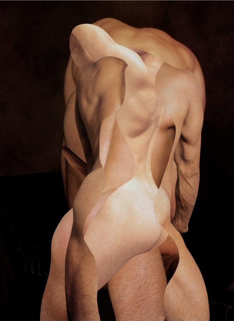 Odires Mlászho, Açougueiro V dalla serie Mestres Açougueiros e seus Aprendizes, 2007, pigmento a getto d'inchiostro su carta Hahnemühle, cm 160x120 Courtesy Odires Mlászho