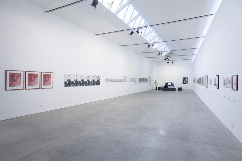 Corpi in azione / Corpi in visione. Esperienze e indagini artistiche 1965-1980, veduta della mostra, Museo Pecci, Milano