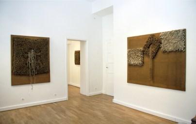 Jack Clemente. Archeologie di un recente passato, veduta della mostra, Studio Gariboldi, Milano-Bergamo