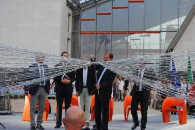 Inaugurazione del MUSE delle scienze, Trento,cerimonia di inaugurazione. Foto: Albarello