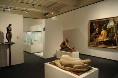 La forza della modernità. Arti in italia 1920-1950, veduta della mostra, Fondazione Centro studi sull'Arte Licia e Carlo Ludovico Ragghianti, Lucca
