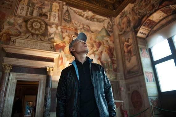 Zhang Huan in Palazzo Vecchio. Foto: Guido Cozzi