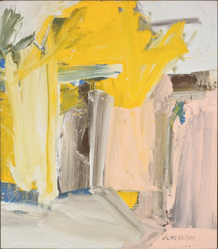 Willem de Kooning, Door to the River, 1960, olio su tela, 203.5x178.1 cm, Whitney Museum of American Art, New York; purchase, with funds from the Friends of the Whitney Museum of American Art 60.63 © 2013 The Willem de Kooning Foundation / Artists Rights Society (ARS), New York Foto di Sheldan C. Collins