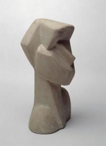 Joseph Csaky, Testa, 1914, bronzo, 39x20x21.5 cm (Am 1977-1) © Centre Pompidou, MNAM-CCI / Jean-Claude Planchet / Dist. RMN-GP