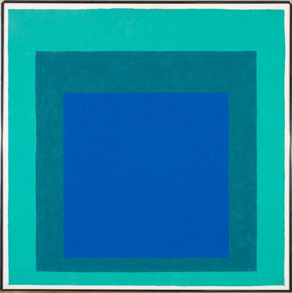 Josef Albers, Homage to the Square, 1976 © 2013 The Josef and Anni Albers Foundation / Artists Rights Society New York