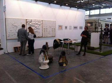 veduta dello stand di FaMa Gallery, Verona - ArtVerona 2013