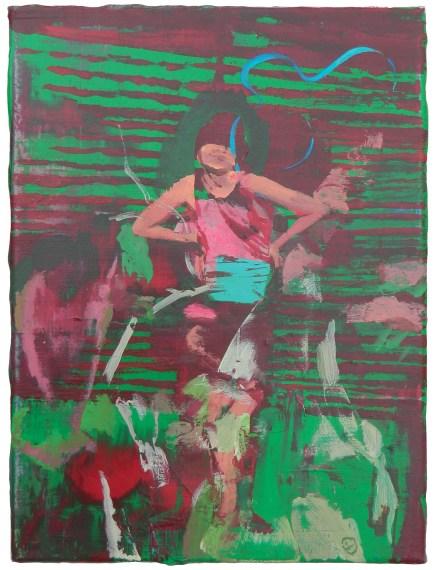 Giuseppe Gonella, Senza titolo 2013 acrilico su tela, 35 x 40 cm