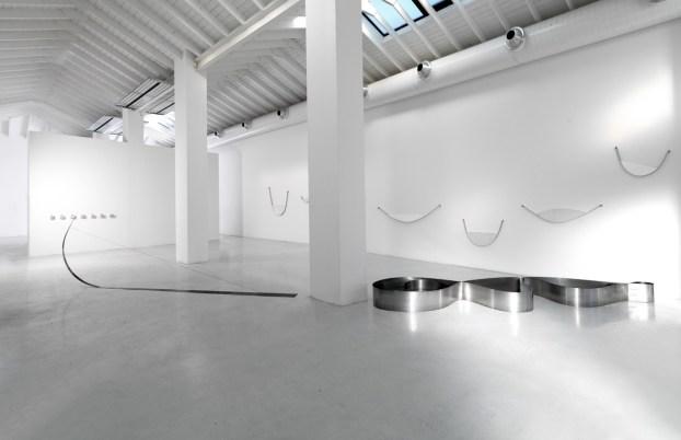 Paolo Icaro. Tensioni, veduta della mostra, Studio La Città, Verona