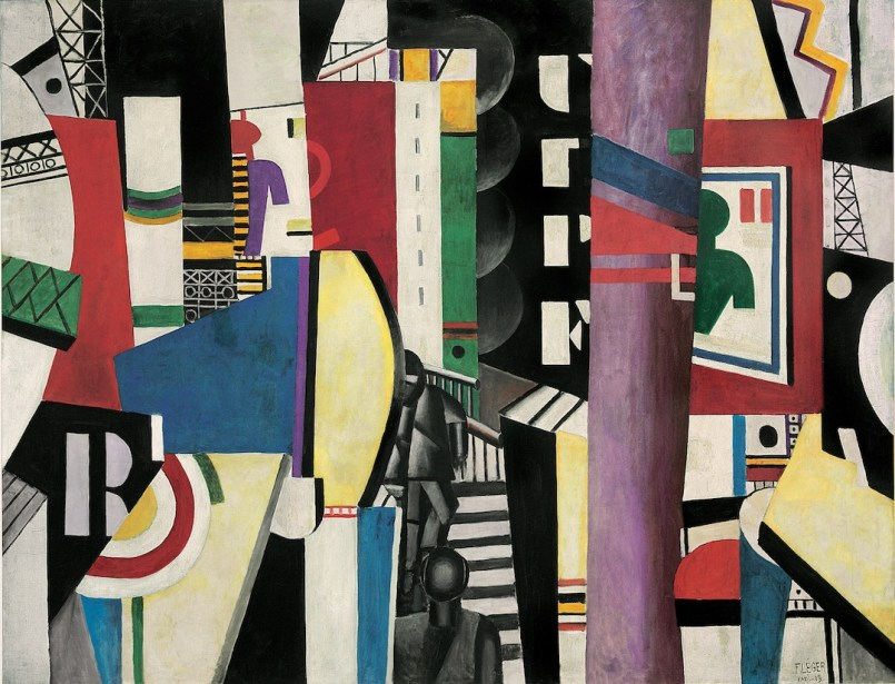 Fernand Léger, La Ville, 1919, olio su tela, 231.14x298.45 cm, Philadelphia Museum of Art, A. E. Gallatin Collection, 1952 © Fernand Léger by SIAE 2014