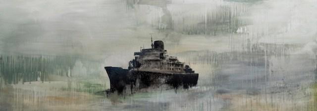 Alessandro Spadari, Il grande narratore, 2013, cm 120x320