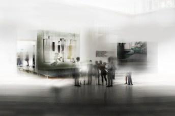 Maiorano, Mettersi in mostra, 2014, stampa su lambda, cm 150 x220