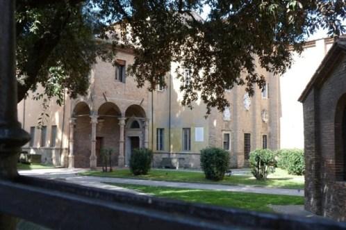 Ingresso del Museo Nazionale di Ravenna