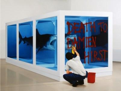 Kepa Garraza (2009), Action of Assault on art 12, New York, oil on canvas, 150û200 cm. Courtesy the artist