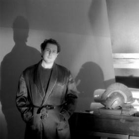 Jeannette Montgomery Barron Julian Schnabel, studio, NYC 1984 © Jeannette Montgomery Barron