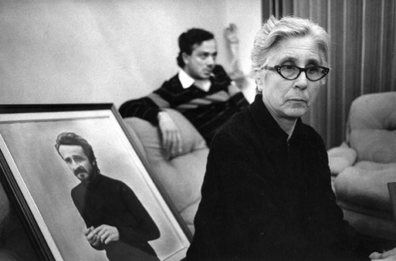 Letizia Battaglia. La madre di Giuseppe Impastato. Cinisi, 1984, Copyright: autori e Museo di Fotografia Contemporanea