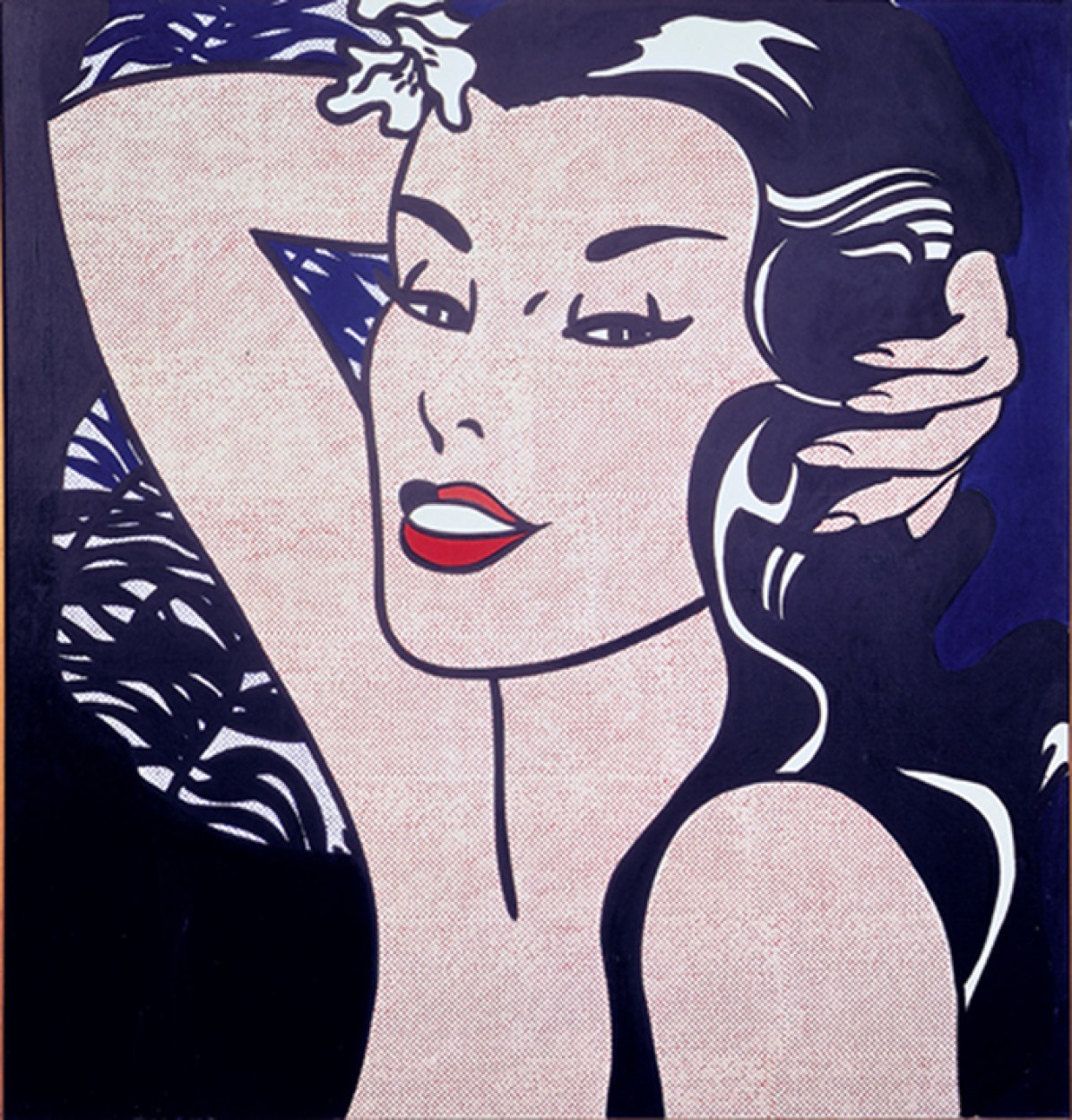 Roy Lichtenstein, Little Aloha, 1962, acrilico su tela, 112x107 cm © Sonnabend Collection, New York © Estate of Roy Lichtenstein by SIAE 2014