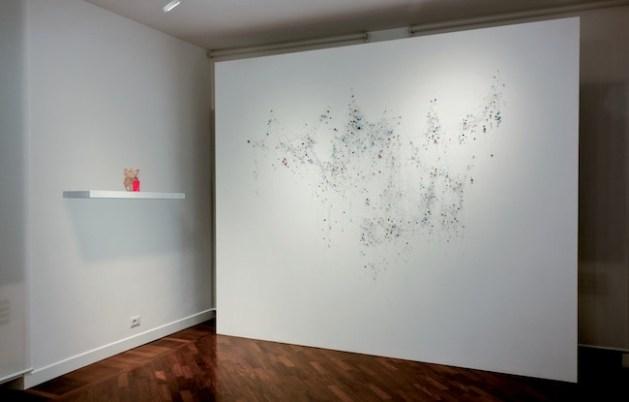 Appartate di Michela de Mattei e Aldo Grazzi, 2014, veduta della mostra, Courtesy smART