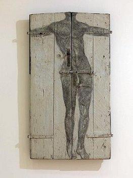 Bruno Ceccobelli, La porta che porto, 2007