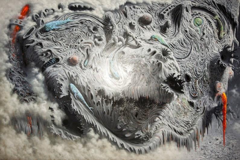 Fulvio Di Piazza, Fango, 2014, olio su tela, cm 200x300, ph. Giuseppe Veniero