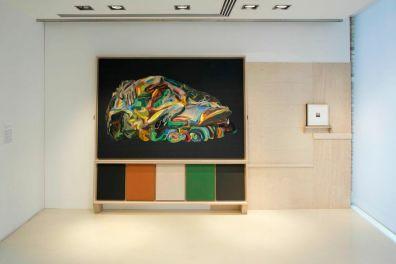 Vita Activa. Figure del lavoro nell'arte contemporanea, Palazzotto Albanese, Pescara Foto Paolo Angelucci (veduta della mostra)