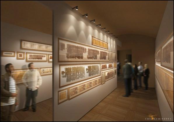 Museo Egizio, Torino (render Papiroteca)