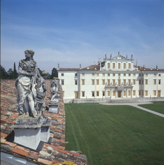 Veduta di Villa Manin, Passariano, Codroipo (UD)