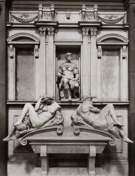 Aurelio Amendola La tomba di Giuliano de' Medici duca di Nemours, veduta d'insieme, 1992-93 Galleria civica di Modena