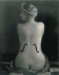 Man Ray a Villa Manin, Le Violo¦Çn d'Ingre¦Çs, 1924, collezione privata, Svizzera, -®MAN RAY TRUST _ ADAGP, Paris, By SIAE 2014
