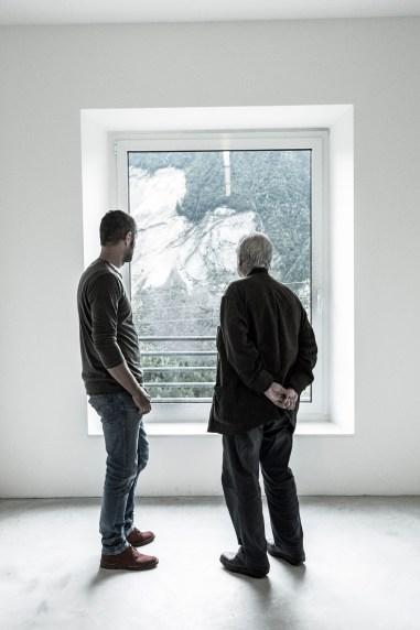 Spazio di Casso, di fronte al Toc con Marc Augé