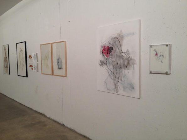 Il disegno degli scultori - Kunsthalle Lana, veduta allestimento