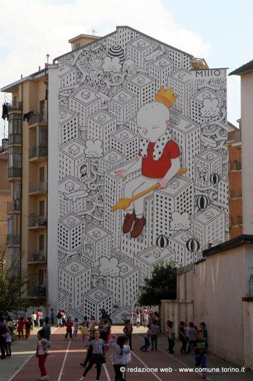 B.ART Arte in barriera - MILLO - VIA CHERUBINI 63, Torino