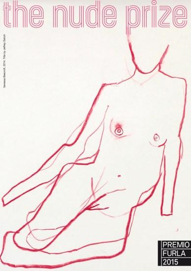 The Nude Prize. Premio Furla 2015 (logo del premio di Vanessa Beecroft)