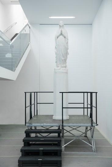 Alberto Garutti, Madonna, 2007, courtesy of the artist, Soleil Politique, Museion 2014. Foto Luca Meneghel