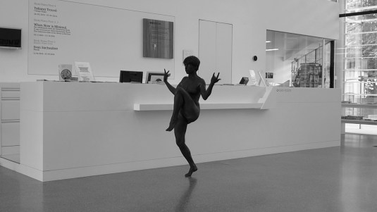 Lili Reynaud-Dewar, Live Through That ?! Museion, 2014 Videostill, courtesy of the artist courtesy of the artist and Emanuel Layr, Vienna