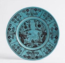 Museo della Ceramica, Savona, Piatto, XVII secolo Maiolica; diametro 32,5 cm Manifattura: Savona o Albisola Credito fotografico: Fulvio Rosso