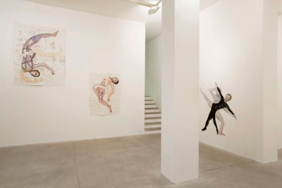 Mathilde Rosier, 2014 Installation view at Galleria Raffaella Cortese, Milano Photo: Lorenzo Palmieri