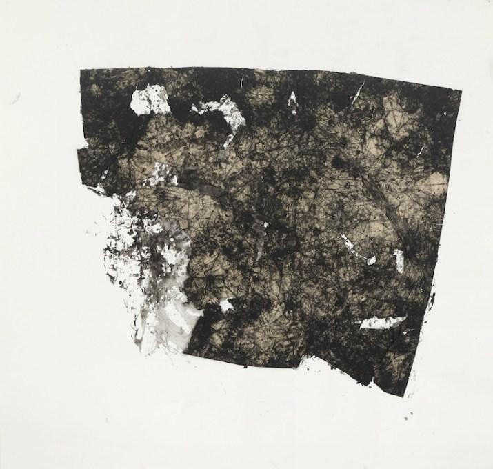 Simona Caramelli, 'Untitled', 2013, carta inchiostrata su carta, 135x140 cm